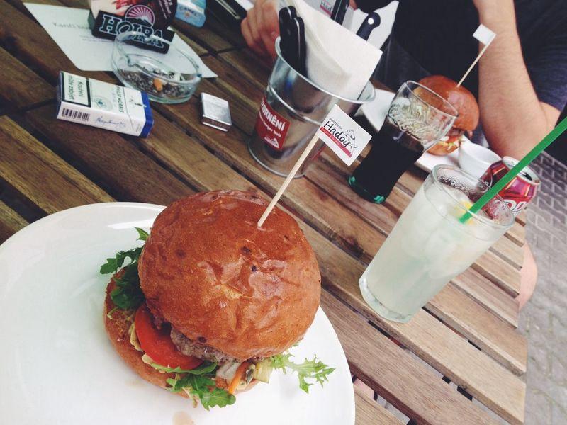 Burgers American Food Meat Eating
