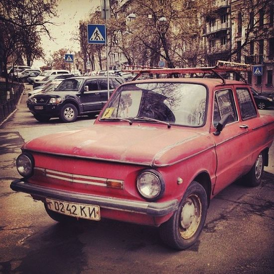 Чужой среди своих запорожец олдскул Old_car Oldschool