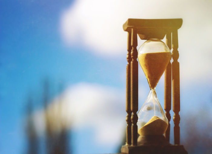 Hourglass Time Deadline Sand Nature No People Land Timer Focus On Foreground Single Object Clock Urgency Still Life Day Instrument Of Time
