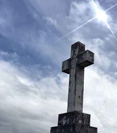 Cemetary Cross Headstone In Memory Lestweforget