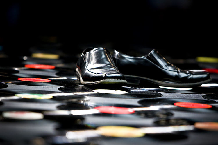 Shoes on record
