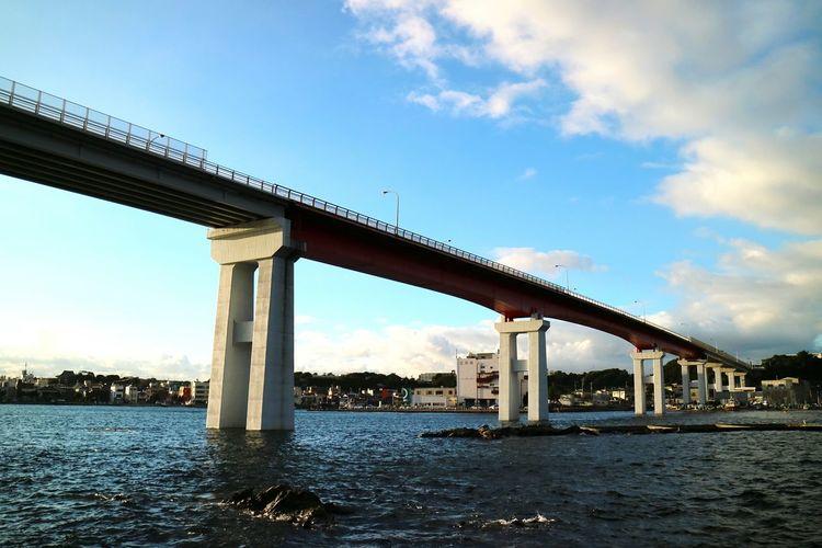 Bridge Across The Sea Sea Sky Japan Cloud Summersky Bluesky Rock Island