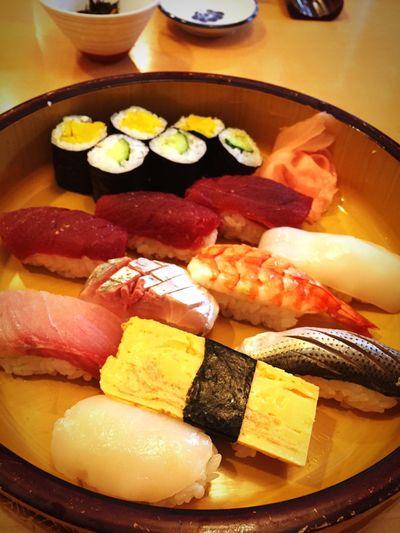 今日はお寿司ランチになりました。美味しかった!^^ Sushi Food Japanese Food Japanese Foods Lunch