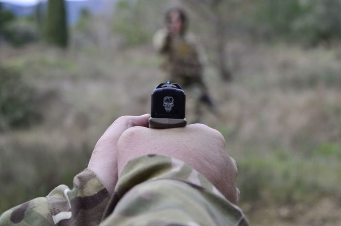 Airsoft photography Adventure Airsoft Airsoft Is My Hobbies Airsoft Photography AiRSOFTGUN Airsoftsports Army Close-up Day Gun Holding Human Body Part Human Hand Leisure Activity Lifestyles Men One Man Only One Person Outdoors People Personal Perspective Real People Special Forces