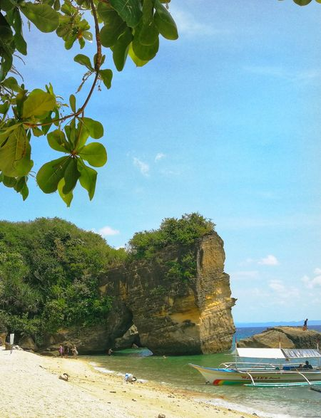 Rock Formation Rock Formations Island Marinduque,Philippines Marinduque Philippines Beauty In Nature Beachphotography Tree Water Sea Sand Leaf Sky Plant