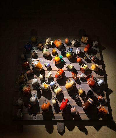 --- Drinks anyone? --- High Angle View Close-up Pots And Pans Mug Mug Mug Mugs♥ Cups And Mugs Pottery And Porcelain Scandinavian Style Scandinavian Design Swedish Design
