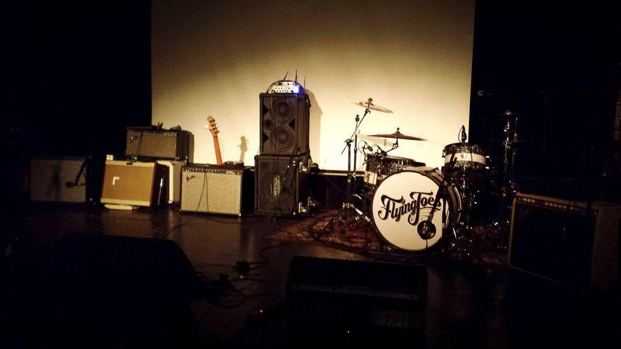 Before Show Amplifier Amor & Willie Western Spaghettrash Rockabilly