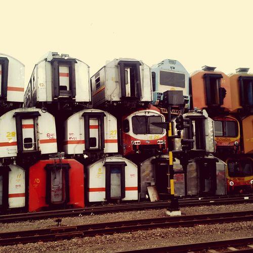 Train on top