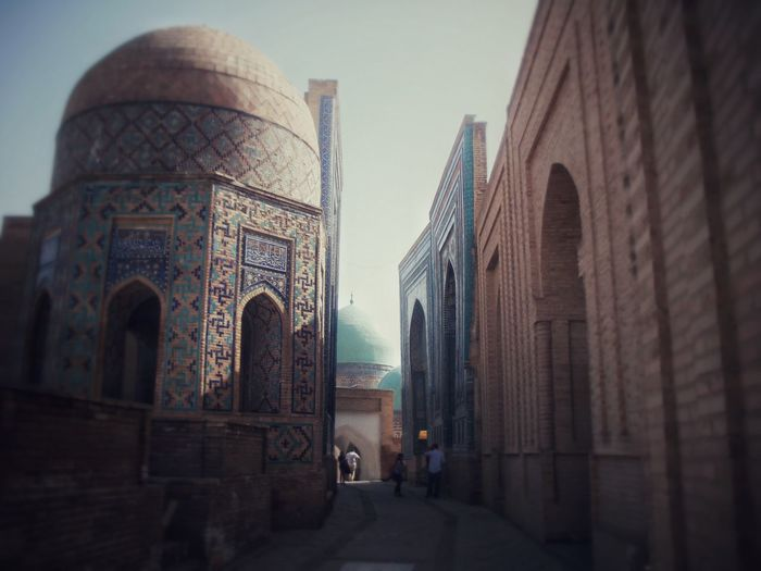 Street of historical city! Samarkand Uzbekistan Historical Place Architecture Ancient Architecture History Through The Lens  Heritage Want To Go Back Pruod To Be Uzbek