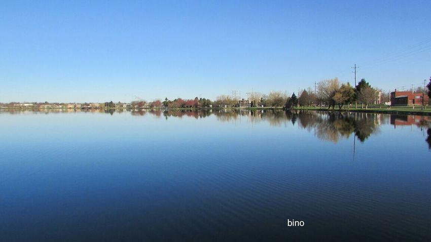 Taking Pictures At My Favorite Lake Morning Walk Distant Horizon Lake Like Glass No People Lake Cadillac Pure Michigan
