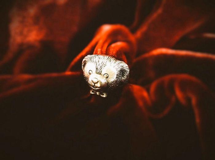 Duffy Bear Silver Ring made by Alexandra Ny Duffy ShellieMay Disney Tokyodisneysea Disneybear Handmade Jewellery