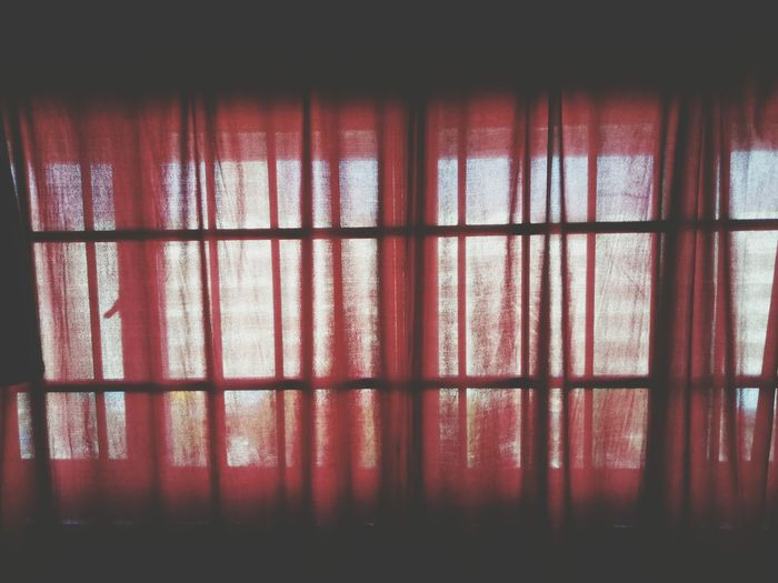 red curtains Red Indoors  Window No People Curtain Full Frame Backgrounds Close-up Day