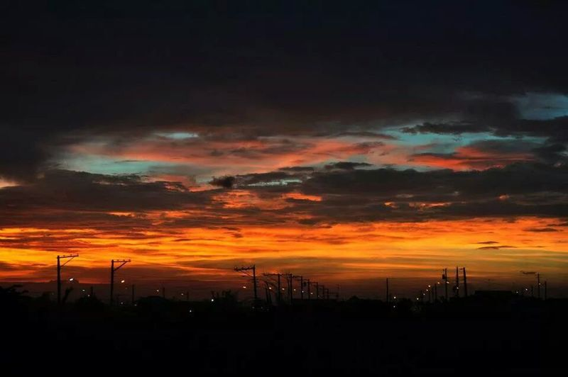 Sunset #sun #clouds #skylovers #sky #nature #beautifulinnature #naturalbeauty #photography #landscape Volunteering Camp