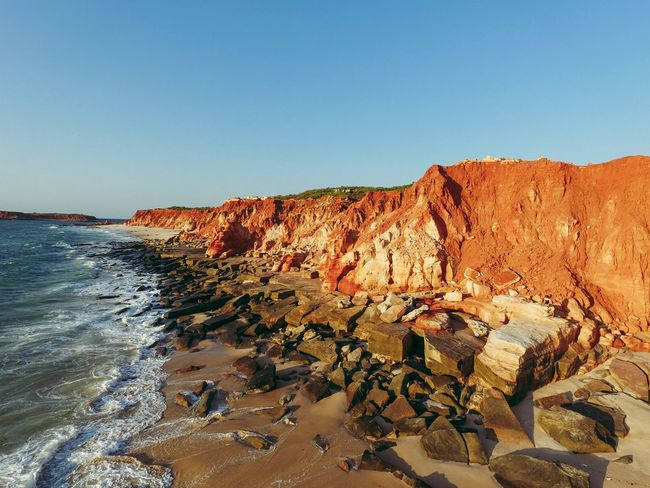 Beautiful red cliffs. Australia Australia & Travel Australian Landscape Beach Beachphotography Beautiful Beauty In Nature Birds Eye View Cliff Cliffs Drone  Drone Moments Drones Droneshot Eye4photography  EyeEm Best Shots EyeEm Best Shots - Nature EyeEm Gallery EyeEm Nature Lover EyeEmBestPics Rock Formation Travel Destinations Flying High Flying High