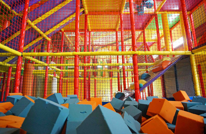 Fun Kids Foam Foam Pit Game Indoors  Indoors  Multi Colored Playground Playhouse