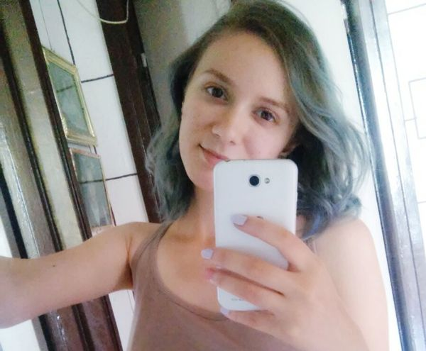BlueHair NewLook Summer2015 Smile Different Happy Nomakeup