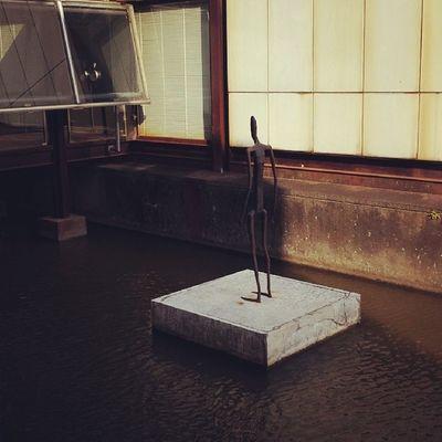 Stickman on ground...JapaneseArt
