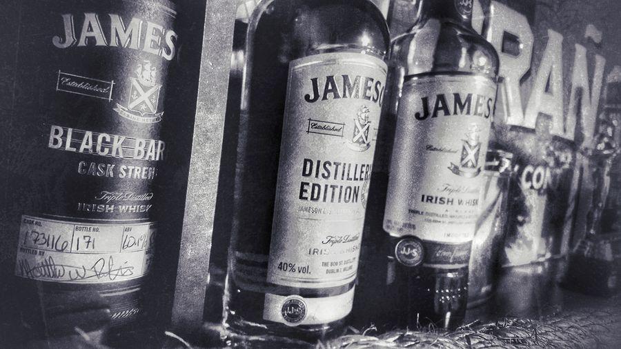 Jamesonwhiskey Jamesondistillery Jameson Irish Whiskey Jameson Black & White Blackandwhite Blackandwhite Photography Liquid Lunch Spirits