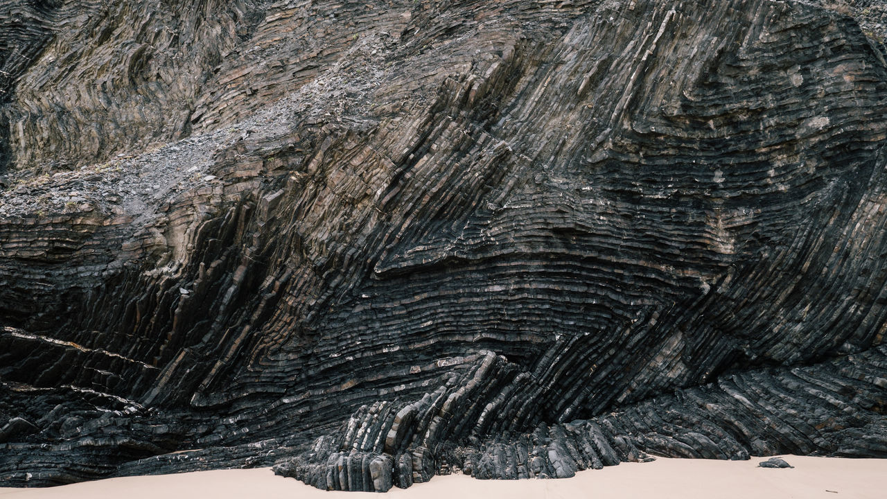 textured, no people, nature, rock - object, rock