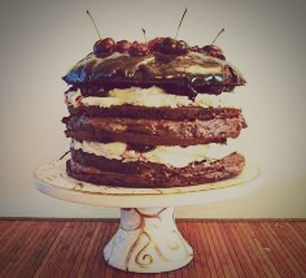 Food Porn Awards Cakes! Blackforestcake