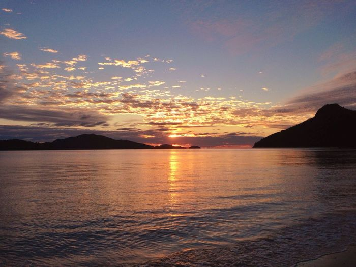 Hamilton Island sunrise. Relaxing Nature Taking Photos Landscape