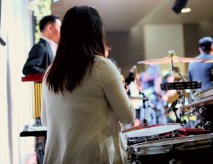 Music Concert DrummerGirl Sound Recording Equipment EyeEm Around Me