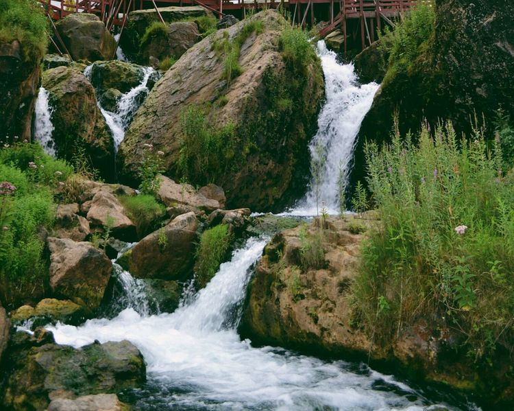 Water Nature Travel Waterfall Beauty In Nature Flowing Scenics Landscape Tree Travel Destinations No People Motion Splashing Fog Hot Spring Outdoors Power In Nature Day Drinking Water Freshness