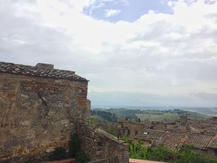 San Gimignano Tuscany Tuscany Countryside Stone Buildings Stone Wall Fine Art Photography