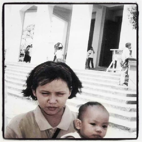 TBT  InstaHappyFace InstaCuteness ForTheFirstTime Forvever missingsomeONEspecial weallmissyou instaplace @Antipolo Church FOREVER②①