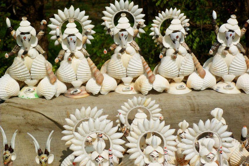 Traveling India Digha Handmade Idols