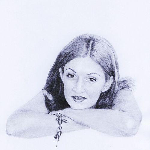 Myself Drawing Portrait