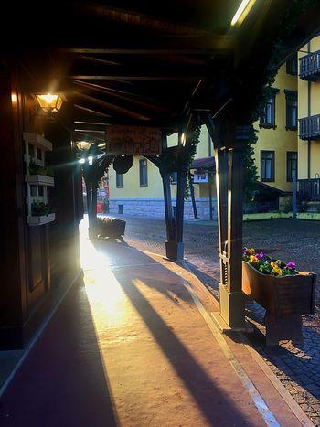 Ombra de vin 🍷 #veneto Built Structure Architecture Sunlight Nature Building Exterior Transportation Shadow