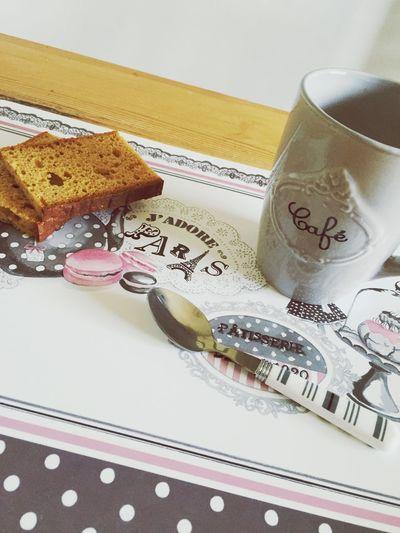 Moment douceur 😜 Cafe Time Chocolate Pain D'épice Goûter Gourmandise