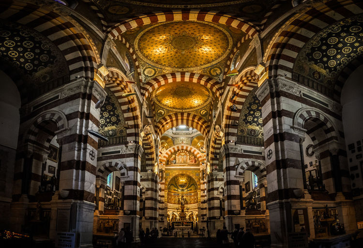 Architectural Column Architecture Art Built Structure Cathedral Church History Interior Panorama Religion Wide Angle