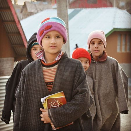 Marchingon PhiranClad ChildrenOfKashmir Kashmir Pakistan Portrait Natgeo Nikon Revoshotsphotography Revoshots StreetsOfKashmir Itravel IExploreKashmir IPhotographKashmir KashmirTalks KashmirTales Rebel Revo Freedom