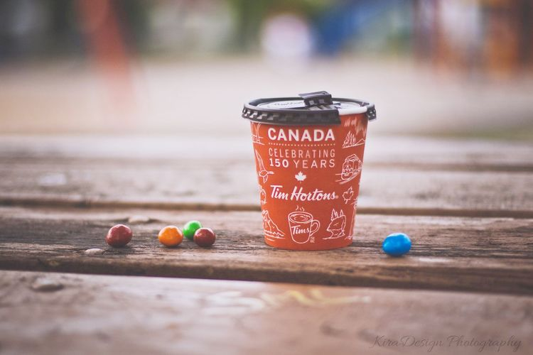 Summer day Timhortons Tea Coffee Time Summer ☀ M&m's