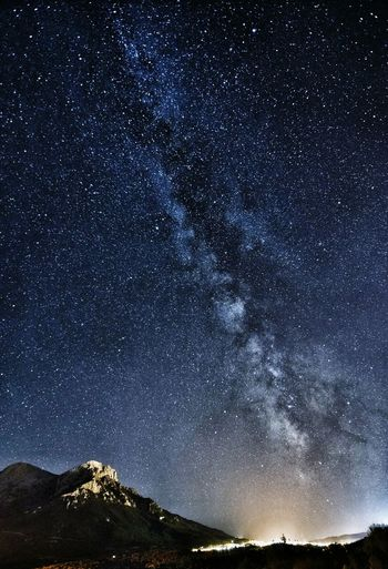 Sardinianmilkyway Vialattea Star - Space Night Astronomy Galaxy Star Field Constellation Milky Way Sky Space Outdoors