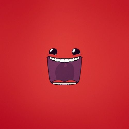 Bom diaaaaa! Gowork Meatboy Red Goodmorning