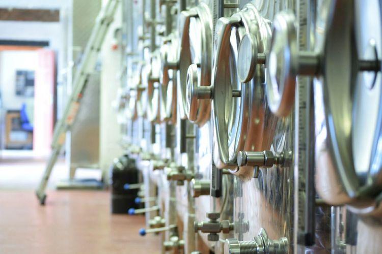 Vineyard Wine Tasting Wine Making Wine Vats Fermentation Fermenting Filtering Sediment