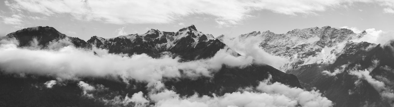 Alps Panorama Black & White Cloud Cloudy Mountain View Panorama Panoramic The Week On EyeEm Alps Balck And White Black And White Blackandwhite Blackandwhite Photography Clouds Liechtenstein Mountain Mountain Peak Mountain Range Mountains Panoramic Photography Snowcapped Mountain Switzerland Been There. Perspectives On Nature The Great Outdoors - 2018 EyeEm Awards