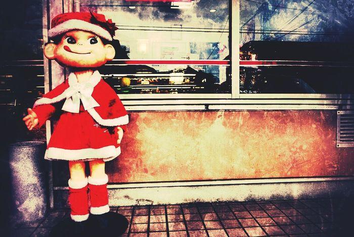 ベタですが(笑)。In Japan Shop Cakeshop Peco Mary Christmas LookingCute  Happy Christmas Japanese Style