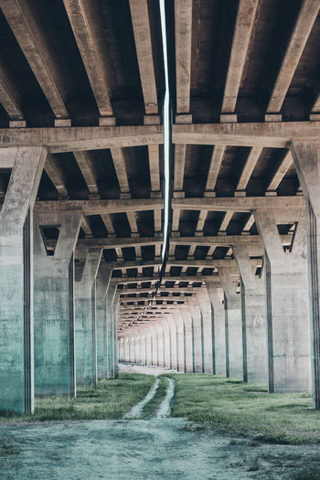 Underneath View Of Bridge