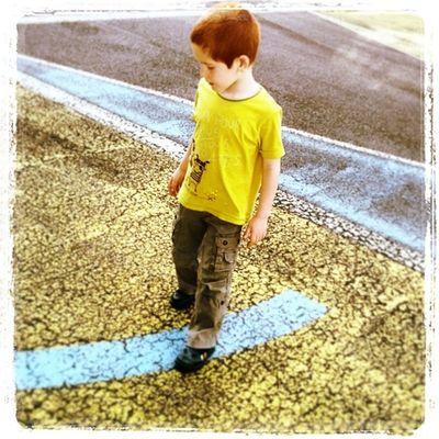 Tiziano my Son an his Yellow Blu world