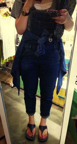Topshopp Dungarees Previous Outfit