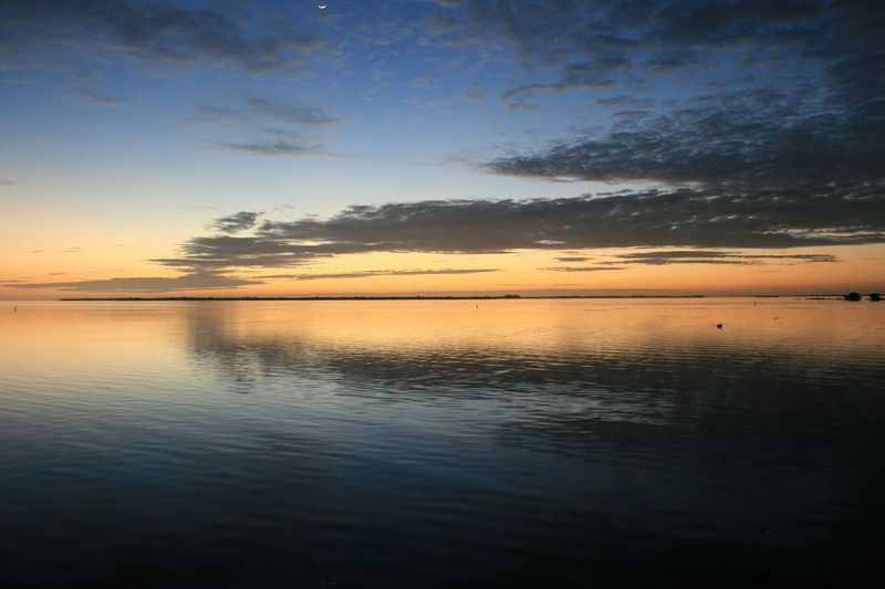 Clouds And Sky Florida United States Sunset_collection Water Reflections Capturing The Sun Edge Of The World Sun And Moon