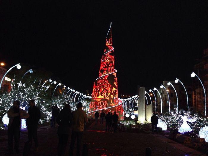 Christmas illumination Streetphotography