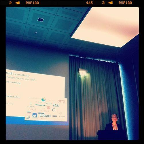 Susanne Fittkau auf der #mbc11 in Köln Mbc11