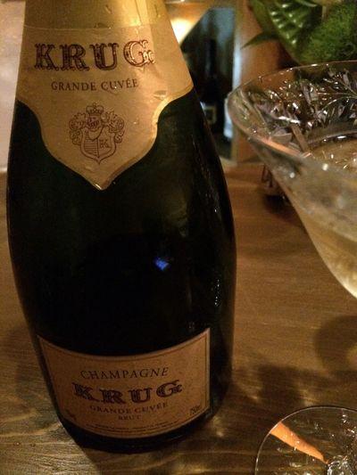 Krug オープン祝い