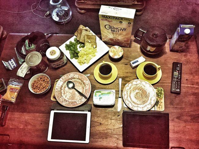 Frühstück mit Friede und mir. #ManuelGotzen #gee Photography