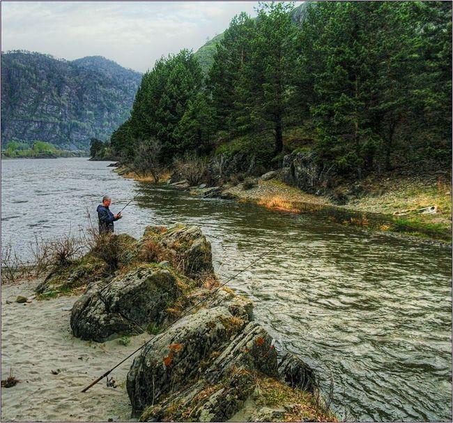 Рыбалка с утречка. Nature Landscape Altay Eye Em Nature Lover HDR Fishing